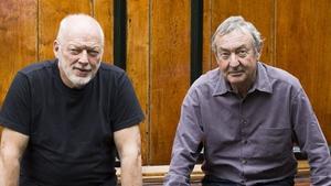 Dave Gilmour and Nick Mason