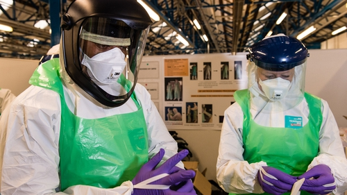 The WHO has warned that the virus is accelerating