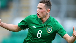 Alan Browne got Ireland's consolation goal from the penalty spot