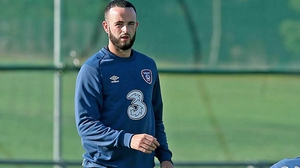 Marc Wilson was forced off for Stoke this afternoon