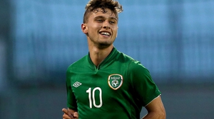 Eoghan Stokes was on target for Ireland
