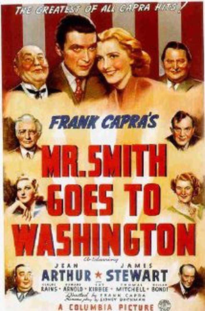 "Anniversary of ""Mr Smith Goes To Washington"""
