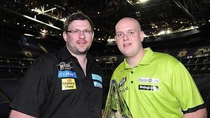 James Wade and Michael van Gerwen will meet in the final