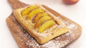 Nectarine Custard Tarts: Rachel Allen