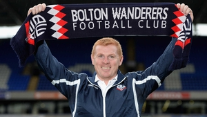 Neil Lennon now faces the task of steering Bolton upwards in the Championship