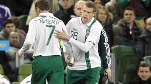 Germany coach Joachim Loew feels Aiden McGeady and James McClean pose a threat