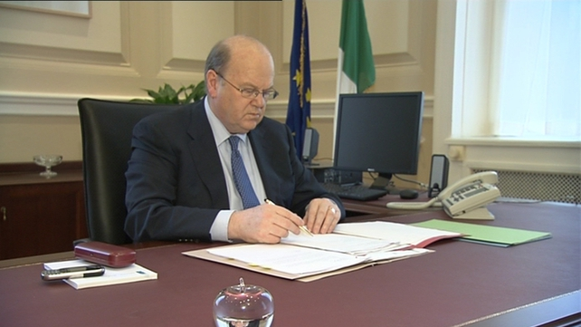 Minister Noonan said the adjustment would come from tax buoyancy rather than new impositions