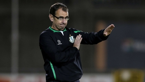 Pat Fenlon is looking to the future at Waterford