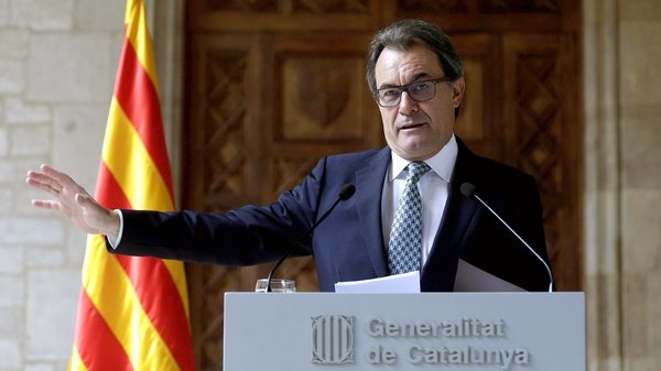 "Artur Mas said the referendum would not go ahead but a ""consultation of citizens"" will take place instead"