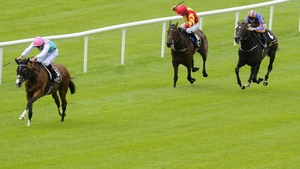 Noble Mission with James Doyle was an all-the-way winner of the 2014  Tattersalls Gold Cup at the Curragh