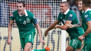 John O'Shea's stoppage-time equaliser against Germany helped Ireland up to 61st place