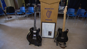 The guitars will be used by inmates as part of their rehabilitation process