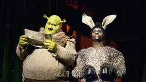 Dean Chisnall as Shrek in Shrek the Musical