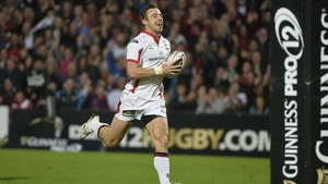 Tommy Bowe was back to his best for Ulster against Glasgow, scoring a fine intercepted try