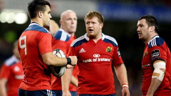 Conor Murray (l) and Damien Varley (r) were both sin-binned against Leinster