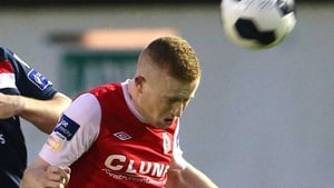 Conor Murphy had a chance to draw Shelbourne level