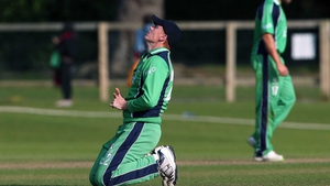 There was no time for Kevin O'Brien heroics as the game was called off without a ball bowled