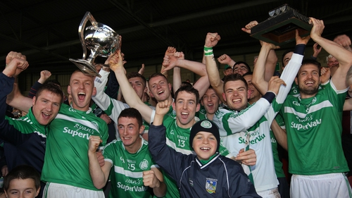 The Kilmallock team celebrate their Limerick title
