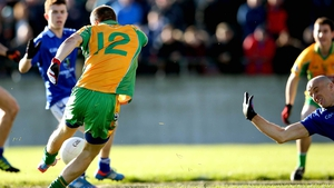 Corofin's Michael Lundy scores his side's first goal