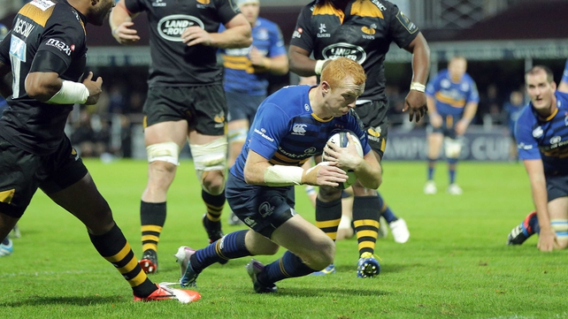 Three-try Leinster dull Wasps' sting