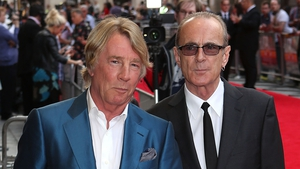 Rick Parfitt (left) with Francis Rossi
