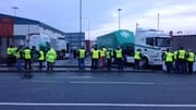 Eoin Gavin, President of The Irish Road Haulage Association, discusses today's protest to create awareness of their campaign to ch