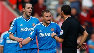 John O'Shea saw his side ship eight goals in a defensive horror-show