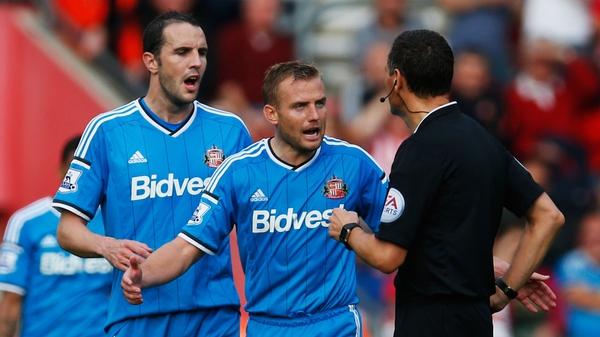 John O'Shea saw his side ship eight goals in a defensive horror-show