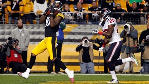 Martavis Bryant of the Pittsburgh Steelers catches a touchdown pass