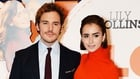 Sam Claflin with his Love/Rosie co-star Lily Collins