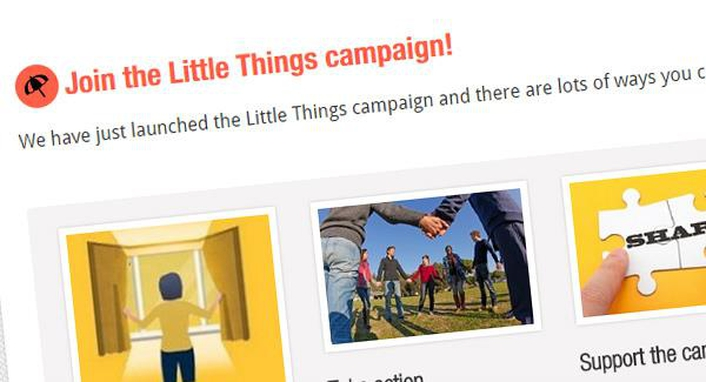 Little Things Mental Health Campaign
