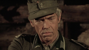 James Coburn as Steiner in Cross of Iron