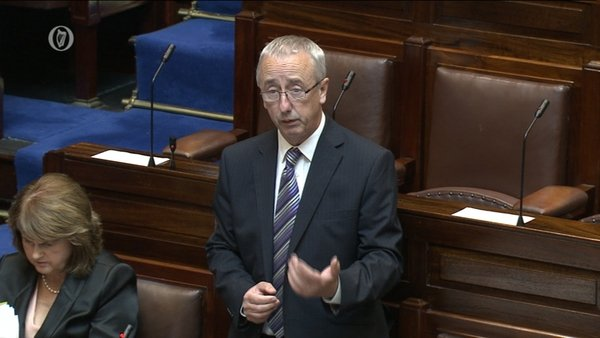 Minister of State Kevin Humphreys confirmed there are eight JobBridge interns at the Department of Social Protection