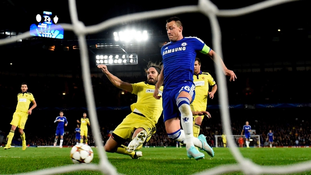 Chelsea hit poor Maribor for six