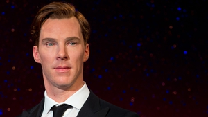 Benedict Cumberbatch's wax figure was unveiled yesterday