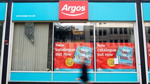 Like-for-like sales at its bigger Argos chain fell 5% in the eight weeks to the end of February