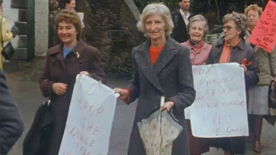 Water and Services Charges Protest, Fermoy, Cork, 1984