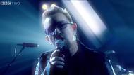 Bono on Later . . .with Jools Holland last night