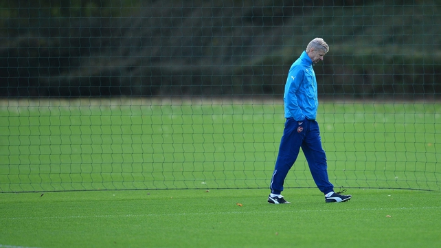 Wenger challenges Gunners to find extra 'fraction'