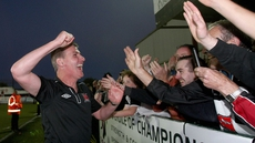 Stephen Kenny is looking the Oriel Park faithful to be a vocal 12th man on Friday evening