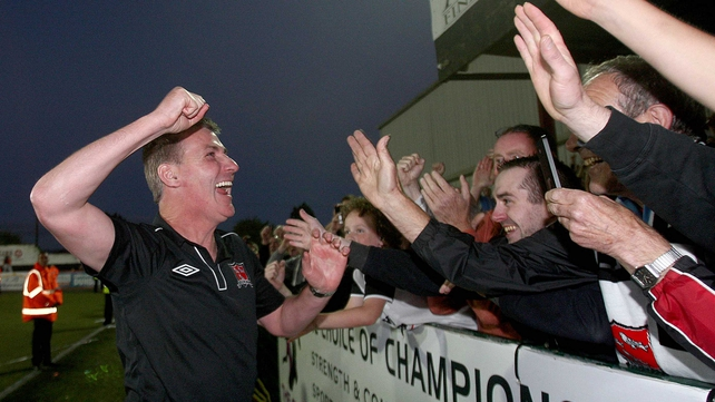 Kenny: Home comforts can inspire Dundalk