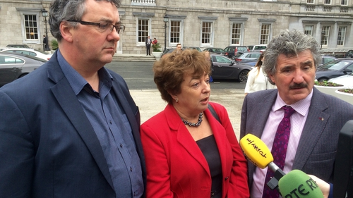 Thomas Pringle, Catherine Murphy, John Halligan were suspended from the Dáil this week
