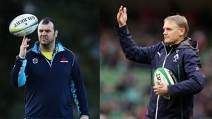 Michael Cheika and Joe Schmidt have coached against each other once before