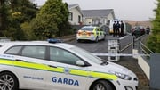 The scene at Carndonagh has been preserved pending the arrival of a garda forensic team
