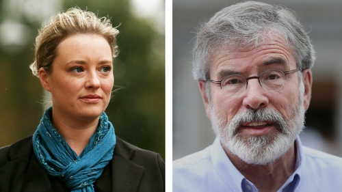 Carál Ní Chuilín called for a face-to-face meeting between Maíria Cahill and Gerry Adams