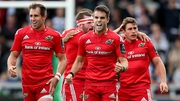 Conor Murray celebrates after last weekend's last-ditch European victory at Sale