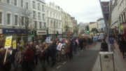 Several thousand have attended the march in Cork city