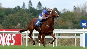 Giovanni Canaletto was a fast-finishing second in the Gallinule Stakes at the Curragh on his seasonal reappearance