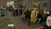 Nine News: Thousands protest nationwide over water charges