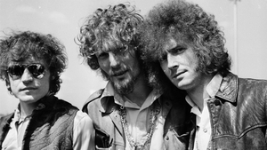Cream pictured in the late 1960s, left to right: Jack Bruce, Ginger Baker and Eric Clapton